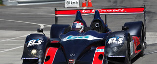 ALMS de Ferran debuts in Utah with fast time