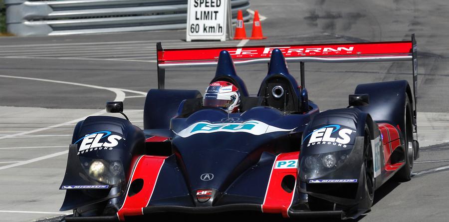 de Ferran debuts in Utah with fast time