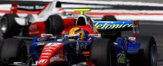 FIA F2 Grosjean penalty hands win to Pantano in Germany