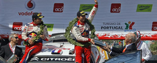 WRC Loeb four for four in 2009, wins in Portugal