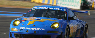 Le Mans Felbermayr Porsche out of Le Mans fight