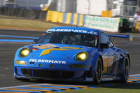 Felbermayr Porsche out of Le Mans fight