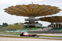 Hamilton leads the way in Friday Malaysia practices