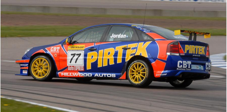 Jordan tops official testing at Rockingham