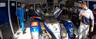 Le Mans No. 3 Peugeot retires, No. 1 holds hour four lead