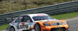 DTM Paffett leads Mercedes 1-2 at Zandvoort