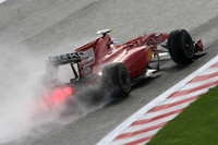 Alonso takes dominant lead in Belgian GP practice