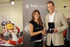 Le Mans Breaking news Cyndie Allemann new Ambassador of TAG Heuer