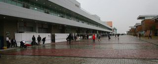 Formula 1 Red flag due to wet track conditions at Korea