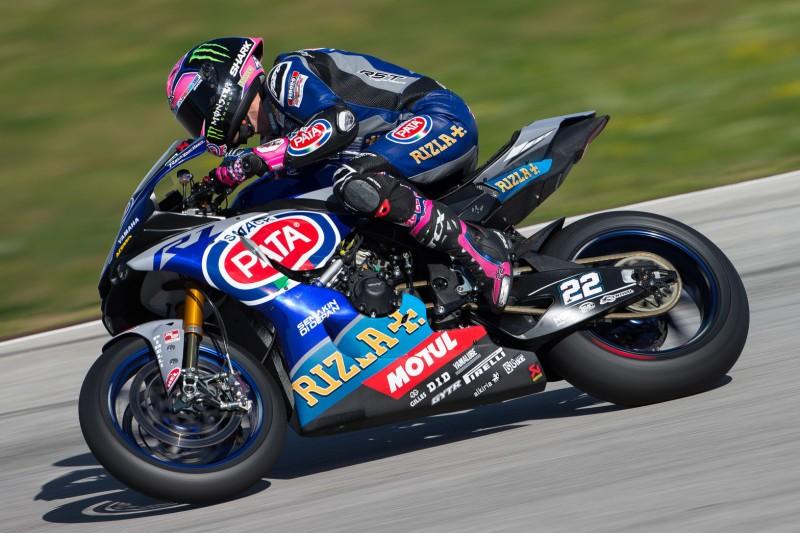 Yamaha: Alex Lowes jagt Jonathan Rea, Michael van der Mark unzufrieden