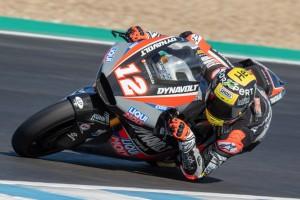 Intact: Tom Lüthi und Marcel Schrötter starten in Jerez in die Saison 2019