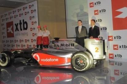 xtb z McLarenem