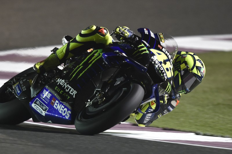 Valentino Rossi am Katar-Freitag: Stark angefangen, stark nachgelassen