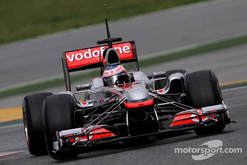 McLaren Barcelona test report 2011-03-08