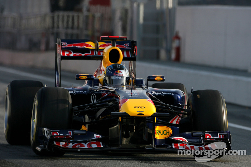 Red Bull Barcelona test report 2011-03-11