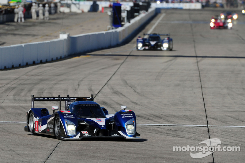 Peugeot race report