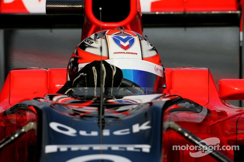 Glock admits Virgin's 107 per cent qualifying fear