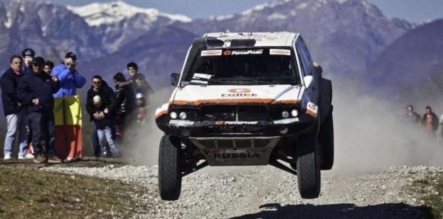 Gadasin wins first FIA Cross Country Baja event