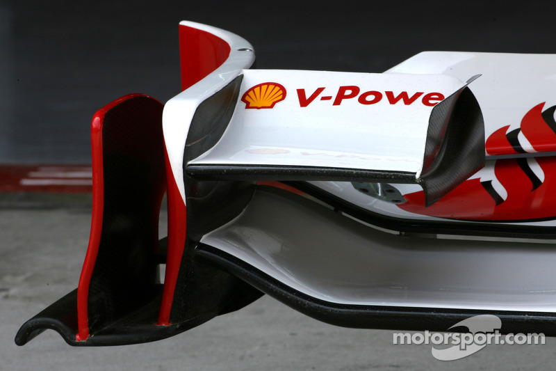 Ferrari aero testing in Malaysia