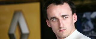 Formula 1 Robert Kubica talks to his fans