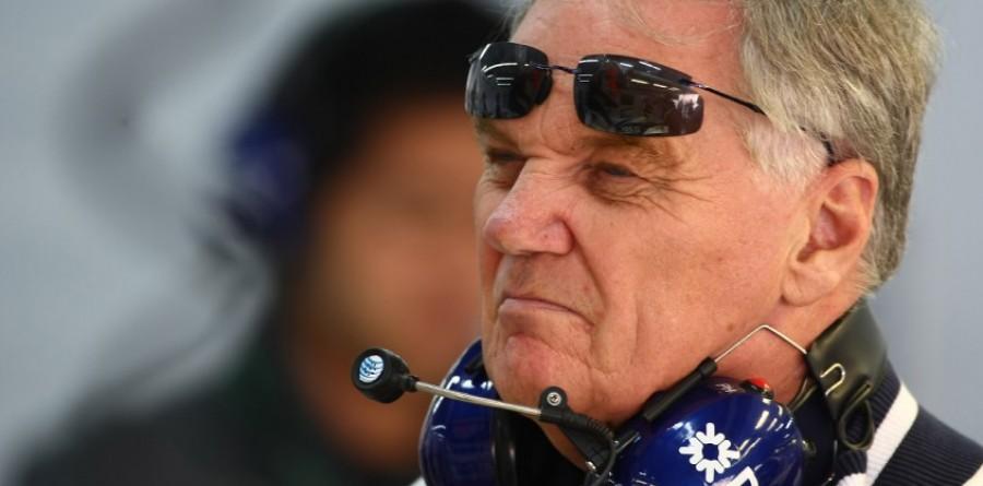 Patrick Head retiring in 2011 - Williams' Parr