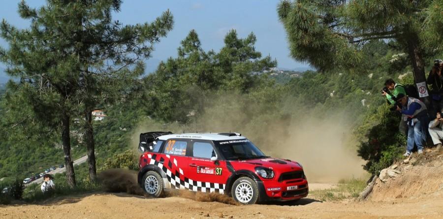MINI Rally Italia Sardegna Leg 2 Summary