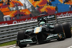 Formula 1 Turkish GP Team Lotus Race Report