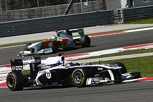 Formula 1 Turkish GP Williams Race review