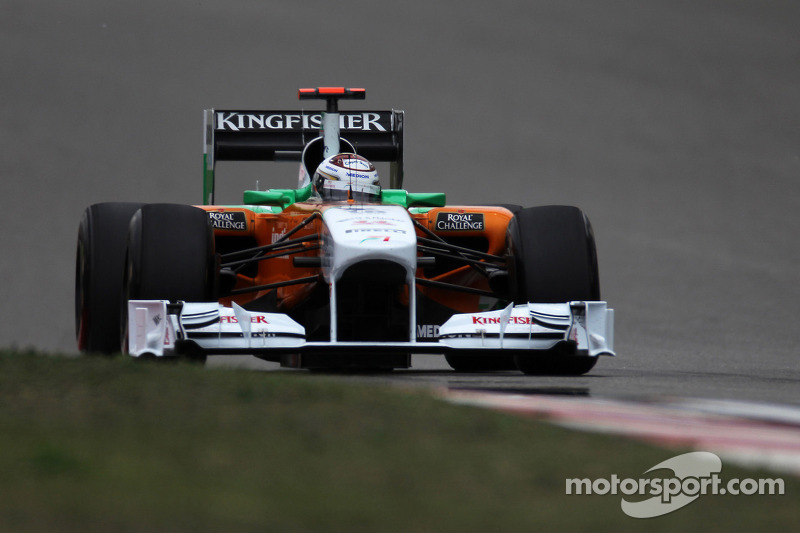 Force India backs Sutil for Barcelona race only