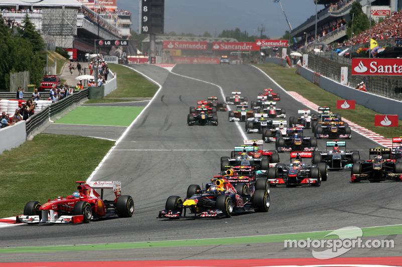 Pirelli Spanish GP Race Report