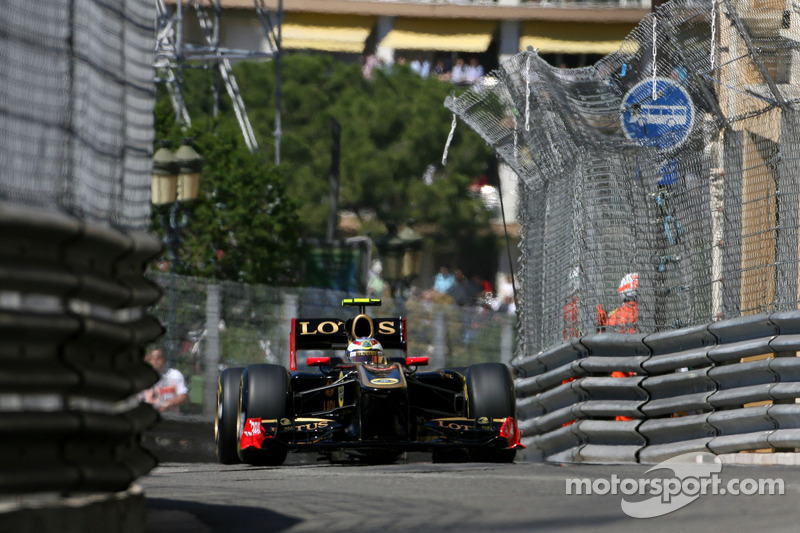 Lotus Renault Review of the Monaco GP at Monte Carlo