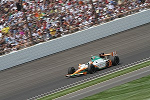 IndyCar CGR's Charlie Kimball Indy 500 Report