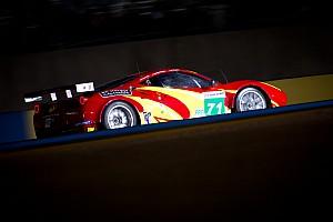 Le Mans AF Corse/Waltrip Le Mans Wednesday Report