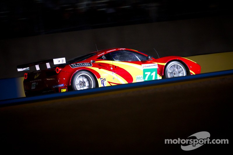 AF Corse/Waltrip Le Mans Wednesday Report