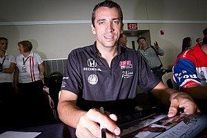 IndyCar Justin Wilson Prepared For Long Texas Night