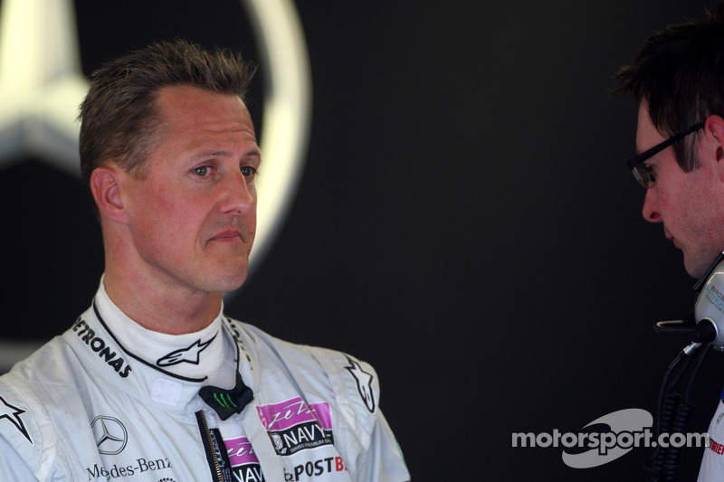 Schumacher sends mixed messages about F1 future