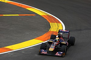 Formula 1 Toro Rosso European GP - Valencia Qualifying Report