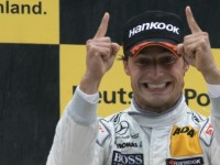 Spengler wins all wet DTM race at Norisring