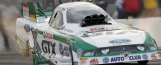 NHRA Neff Gets Ford's 200th NHRA Funny Car Win At Joliet