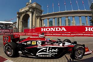 IndyCar Justin Wilson Toronto Race Report