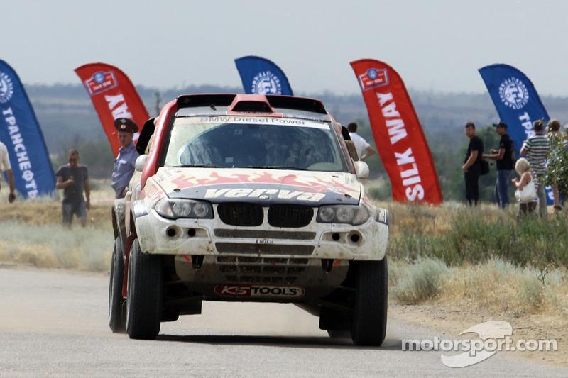 BMW X-raid Dakar Series Silk Way Rally Day 2 Report