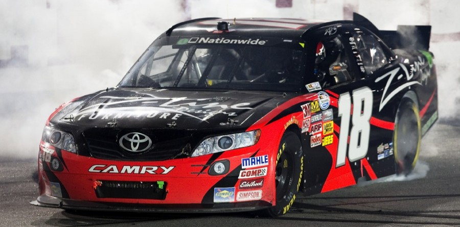 Kyle Busch Looks For  Record Win In  NNS Loudon 200