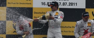 DTM Spengler Wins Final Race At DTM Show Event In Munich
