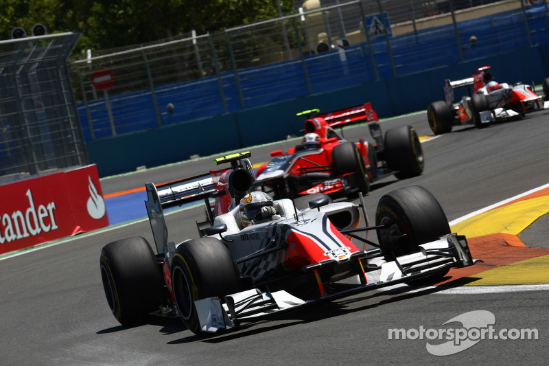 Renewed HRT F1 Team Looking Forward To German GP At Nurburgring