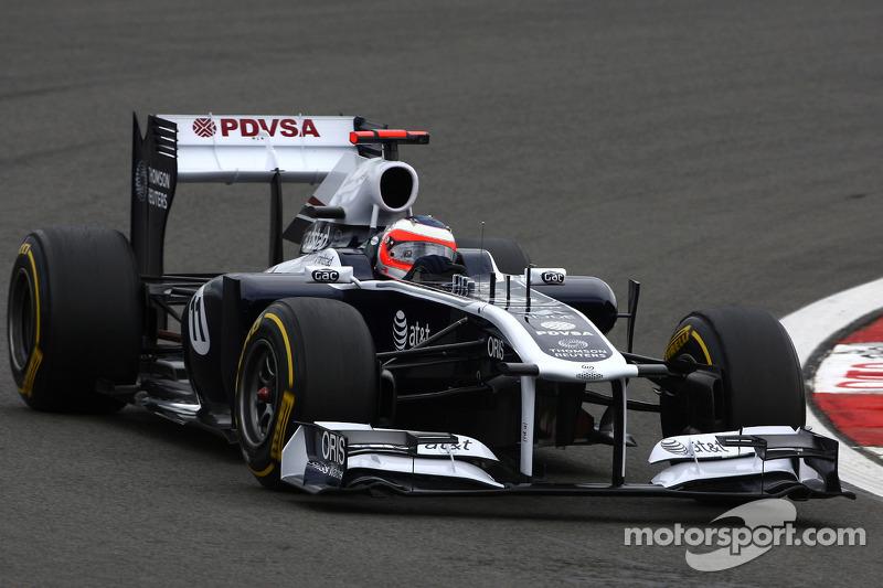 Williams German GP - Nurburgring Friday Practice Report