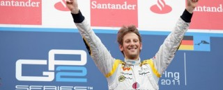 GP2 Grosjean Extends GP2 Title Lead With Nurburgring Sprint Win
