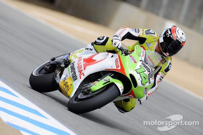 Randy De Puniet Sidelined For US GP