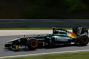Formula 1 Team Lotus Hungarian GP Friday Practice Report