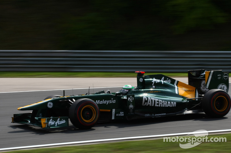 Team Lotus Hungarian GP Friday Practice Report