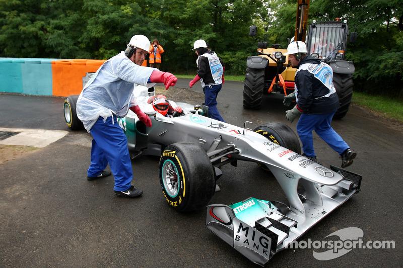 Mercedes Hungarian GP Race Report